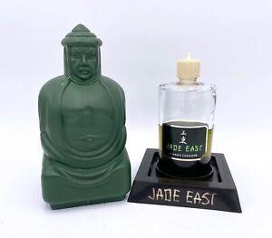 Vintage Jade East Counter Display Men's Cologne Swank 12oz Bottle Plastic Cover