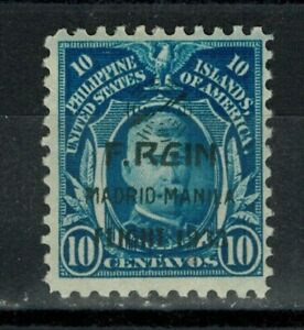 1933 US/Philippines Stamps - SC#C40 - 10c F.REIN Airmail Overprint - MH