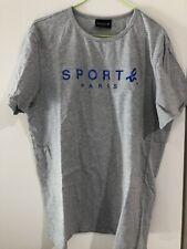Agnes.b Men's Grey T-shirt, Size L, Authentic, Perfect Condition, RRP:145