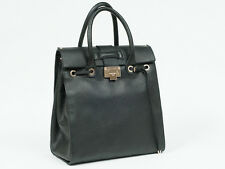 New   Jimmy Choo Rosabel  Black  Leather  Shopper Bag