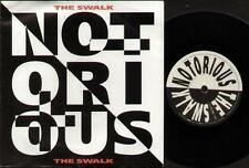"NOTORIOUS Swalk  7"" Ps, 1990 Single Feat Robin George And Sean Harris, B/W Eyes"