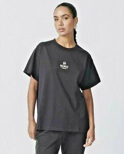Ena Pelly Women Core Logo Tee Shirt S/Sleeve Oversized Block T-shirt Crew Top 12