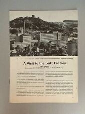 Leitz,  A4 Paper Booklet, A visit to the Leitz Factory, 16 Pages