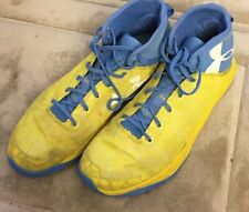 Under Armour Yellow Basketball Shoes 9.5