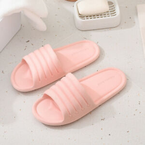 Indoor Shower Bath Slippers Women Men Non-slip Home Bathroom Sandals Shoes Lot