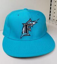 New Era SIZE 7 1/8 Florida MIAMI Marlins Fitted 5950 OG MLB CAP Baseball Hat USA