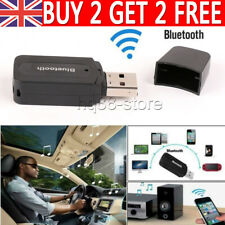USB Bluetooth Audio Adapter Music Receiver for TV PC Car AUX Speaker