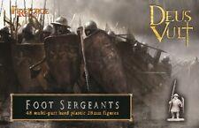 Fireforge Games 28mm Foot Sergeants Deus Vult # FFG004