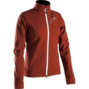 Bontrager MTB Jacket Softshell Women's WSD Maroon Heavy Duty Full Zipp New