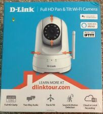 Brand New D-Link Full HD Pan and Tilt WiFi Camera