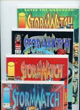 Stormwatch #0, #1, #2, #4, #16, #22, #24, and #25 Image Lot of 8 Comics
