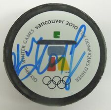 ANDREI KOSTITSYN SIGNED 2010 VANCOUVER OLYMPICS HOCKEY PUCK 1000664