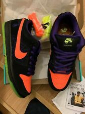 Nike SB Dunk Low Skate Night of Mischief Halloween UK8 US9