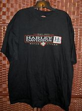 Harley Davidson tshirt XXL mens 2XL Schaeffer's Orwigsburg PA Deka Batteries