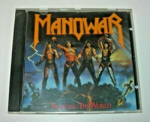 Manowar: Fighting The World CD Atco/Atlantic Records 1987