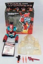 Vintage 1985 Hasbro G1 Transformers Perceptor Complete With Box Used Original