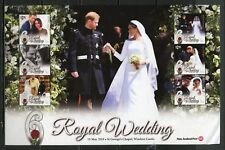 NEW ZEALAND  2018 MARRIAGE OF PRINCE HARRY & MEGHAN MARKLE  SHEET  MINT NH