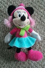 10 IN MINNIE MOUSE PLUSH SNOWFLAKE STUFFED ANIMAL TOY