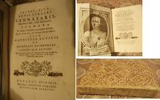JACOBI, SIVE ACTII SYNCERI SANNAZARII, Neapolitani, Viri Patricii, POEMATA- 1751
