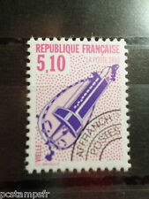 FRANCE TIMBRE PREOBLITERE 209, MUSIQUE VIELLE, VF MNH stamp, MUSIC HURDY GURDY