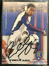 HAND SIGNED 2013 TOPPS ROBBIE FINDLEY REAL SALT LAKE  AUTOGRAPHED AUTO IN PERSON
