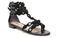 Sam Edelman Desi Black Suede Leather Gladiator Sandal Women's sizes 5-11/ NEW!!