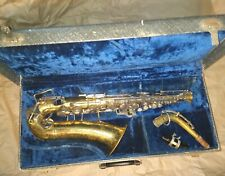 Buescher Aristocrat Alto Saxophone, USA, Complete, acceptable condition