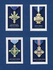 Scott #5065-68 Service Cross Medals (Set of 4 Singles - BCA) 2016 Forever MNH