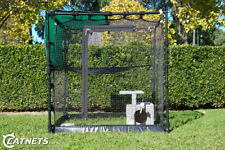 Portable Freestanding Cat Enclosure 1.2m- FREE Hammock FREE Shade Sail FREE Ship