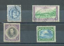 Cook Is 1894-1945 sg.6, 154 used. sg.143 and 145 MH (gum on 145 only fair)