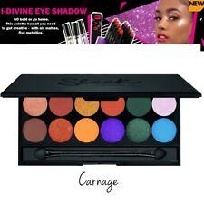 Sleek Makeup Idivine Eyeshadow Assorted Colours Palette Carnage Original - 9.6g