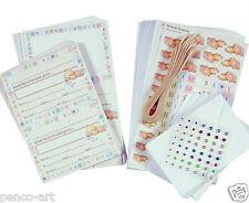 Docrafts Forever Friends Baby new arrival card kit Gems cards envelopes ribbon