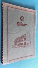 Göhrum Katalog, vollständiges Nachschlagewerk für den Fahrzeugbau, ca.1955