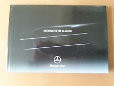 Mercedes-Benz Roadster der SL-Klasse, 08/2003, 70 S. Hardcover + Preisliste 12 S