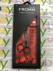 """New Fromm Invent 5.75"""" 28-Tooth Thinner Japanese Steel"""