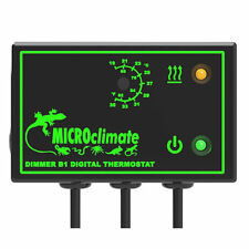 Microclima B1 atenuación Termostato Regulador De Stat Reptiles, serpientes, lizardos y gecos
