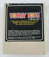 VINTAGE  ATARI Donkey Kong Video Game Cartridge Nintendo 1982 COLECO