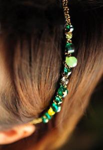 Fashion Women Jewel Gems Headband Crystal Hair Band Girl Ladies Headwear UK