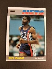 1987-88 FLEER BASKETBALL #120 BUCK WILLIAMS MINT NEW JERSEY NETS
