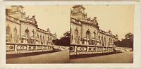 Germania Potsdam Château Palais, Foto Stereo Vintage Albumina Ca 1865