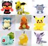 Eevee Plush Doll Pokemon Toy Jigglypuff Pikachu Charmander Snorlax Soft Squirtle