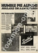 Humble Pie Thunderbox AMLH 63611 Top Rank, Swansea MM4 LP/Tour Advert 1974