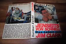 Helmut Zwickl -- das LEBEN von JIM CLARK // JENSEITS von SCHNELL  Motorbuch 1970
