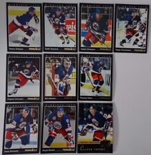 1993-94 Pinnacle Winnipeg Jets Team Set of 10 Hockey Cards