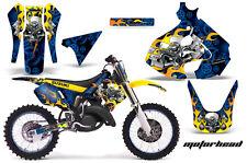 Suzuki RM 125 Graphic Kit AMR Racing MX # Plates Decal Sticker RM125 99-00 MHEAD