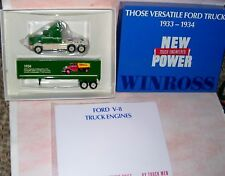 1991 History of Ford Trucks #6 1934 V-8 Winross Diecast Delivery Trailer Truck