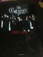 The Gazette - DECADE anniversary book - Japan Visual Kei Black Moral Ruki Reita