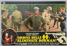 FOTOBUSTA 6, ORDINE DELLE SS: ELIMINATE BORMAN, BARDEM, GUERRA, NAZI