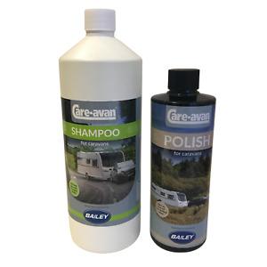 Bailey Alu Tech  Specifically Designed  Hi-Tec Shampoo 1ltr  and 500ml Polish