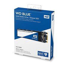 WD Blue 500GB 3D NAND SATA III 6GB/s M.2 2280 Internal Solid State Drive